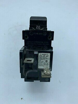 2 Pushmatic 15 amp Breakers  P115 Siemens ITE Gould 15A Single Pole NICE!