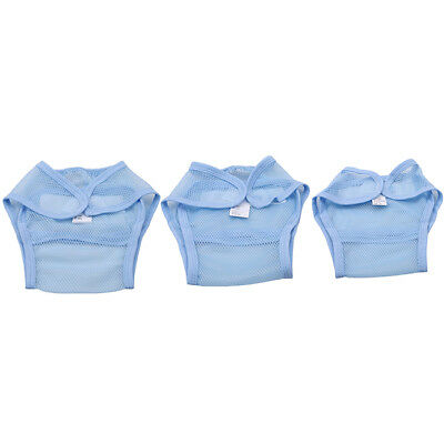 Reusable Nappies Cover Cloth Diaper Baby Breathable Adjustable Training Pant MP