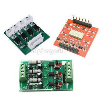 3/4 Channel Optocoupler Isolation Opto-isolator High/Low Level TLP281 Module