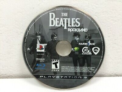 Sony PlayStation 3 PS3   The Beatles Rock Band   Game Disc Only