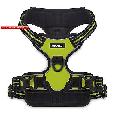 Voyager By Best Pet Supplies -Dual-Attachment No-Pull Adjustable Harness With 3M