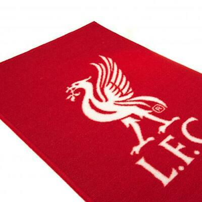 Liverpool FC Printed Crest Rug Bedroom Door Mat Non Slip Floor XMAS GIFT