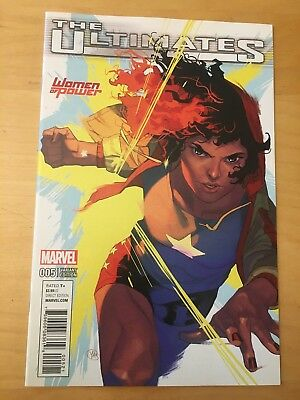The Ultimates 5, Nm+ 9.6,  America Chavez Woman Of Power Variant, Cgc Worthy