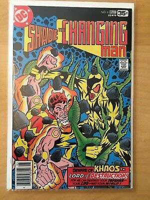 Shade The Changing Man  6 & 7, Nm 9.4, 1St Prints, 1977, Steve Ditko