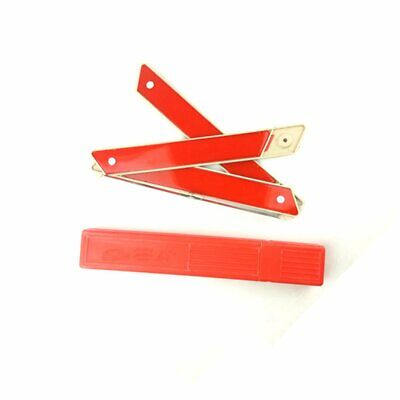 Car Auto Safety Emergency Reflective Warning Triangle Red Car Warning Sign~@