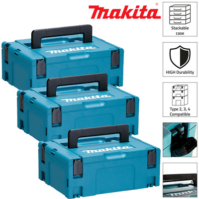Makita 821550-0 MakPac Type 2 Stacking Connector Case 396mmx 296mmx 157mm Pack 3