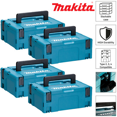 Makita 821550-0 MakPac Type 2 Stacking Connector Case 396mmx 296mmx 157mm Pack 4