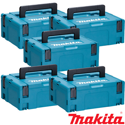 Makita 821550-0 MakPac Type 2 Stacking Connector Case 396mmx 296mmx 157mm Pack 5