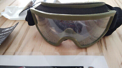 ESS Land Ops Unit Issue Goggles, Olive Green
