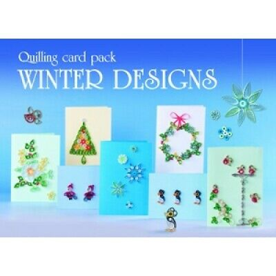 Boxed Quilling Card Kit - Winter