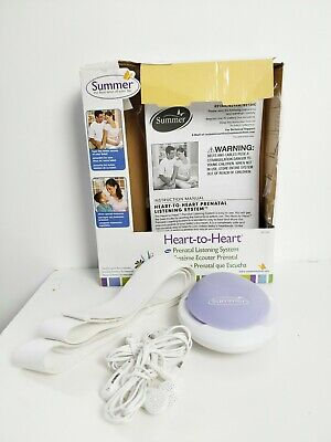 Pregnancy Care Summer Infant Prenatal Heart Listening System Heart to Heart VGC