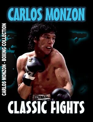 Carlos Monzon (Great Classic Fights)