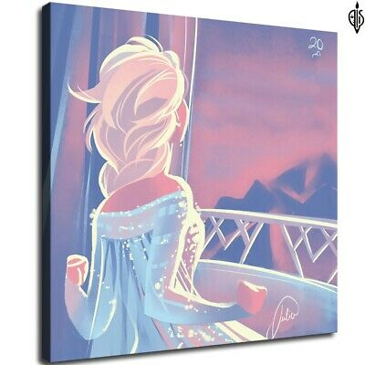 Frozen film poster HD Canvas prints Home Decor Wall art painting 12X12inch