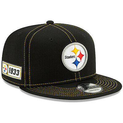 2019 Pittsburgh Steelers New Era 9FIFTY NFL Road Sideline Snapback Hat Cap 950