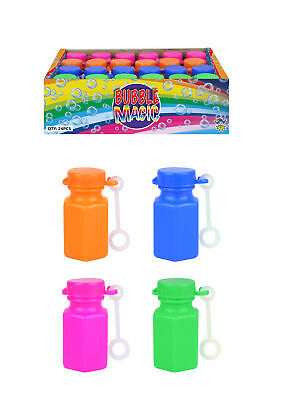 48 Mini Bubble Magic Tubs - Pinata Toy Loot/Party Bag Fillers Childrens/Kids