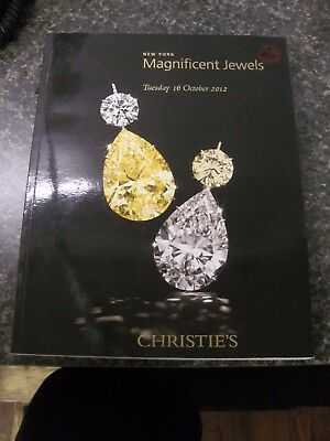 A1036 Old Pawn Christie's Ny Magnificent Jewels October 2012
