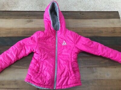 fdd4e4ad3aa GIRLS S 7/8 Gerry Winter Jacket Hood Pink Youth Kids - $17.99 | PicClick