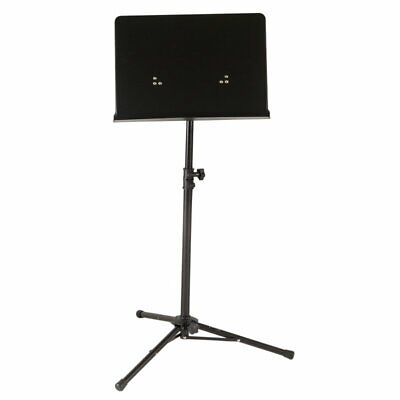 Koda TPS001 Music Stand, Orchestra Stand with Non-Perforated Desk