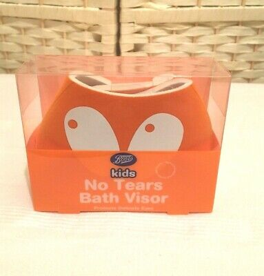 New Adult Baby Toddler Child Shampoo Bath Visor Shield for Eyes - No More Tears