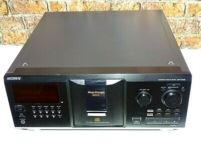 Sony CDP-CX355 Vintage Hi Fi Separates Three Hundred 300 Disc CD Autochanger