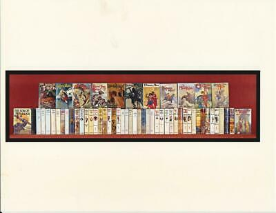 Edgar Rice Burroughs - Complete Collection of all 57 of 1sts - Tarzan, Mars ++