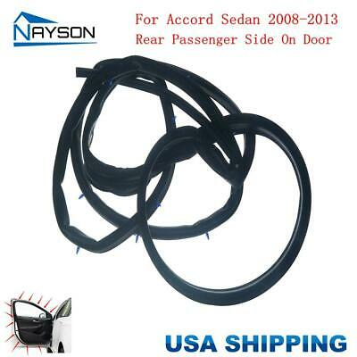 Replacement Door Rubber Seals Weather Strip Front Right for ACCORD Sedan 94-97