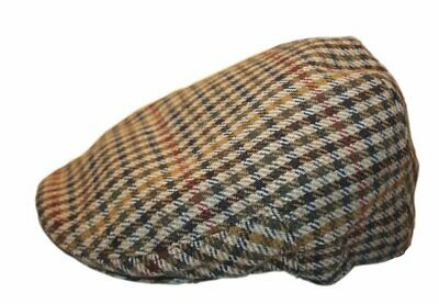 NEW HAWKINS KIDS//BOYS//CHILDRENS FLAT CAP TWEED TRADITIONAL WOOL BLEND 52-56CM