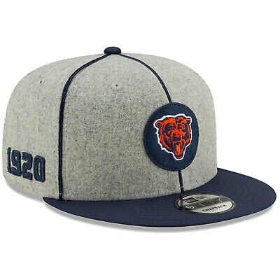 2019 Chicago Bears New Era 9FIFTY NFL Home Sideline Snapback Hat Cap 1920s