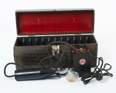 Antique Master Electric Co Violet Ray High Frequency Quack Medicine Device Works