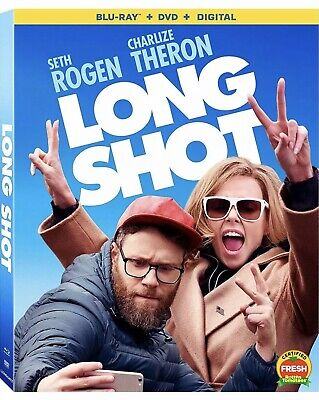 Long Shot(Blu-Ray+Dvd+Digital)W/Slipcover New And Sealed