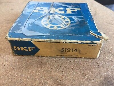 Skf 51214 Thrust Ball Bearing 70 X 105 X 27 Mm