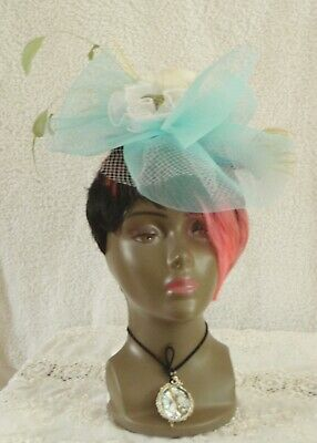 Novelty Fascinator on Headband Wedding Royal Ascot Races Bespoke - no two alike;