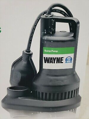 Wayne wst33 1/3 HP Reinforced Thermoplastic Submersible Sump Pump