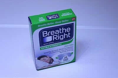 Breathe Right Nasal Strips Extra Strength, Clear, 26-Count