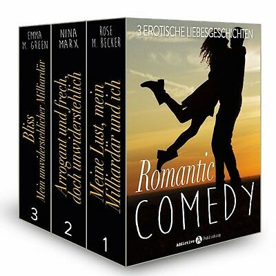 Romantic Comedy stories and novels Collection 350+. Epub&Mobi.