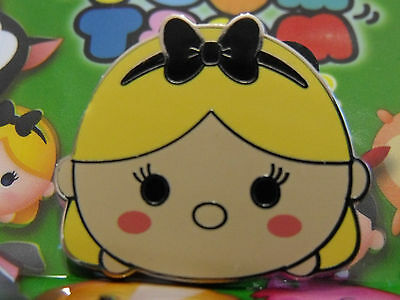 New 2016 Disney Mystery Trading Pin Tsum Tsum Cute Alice in Wonderland Series #2