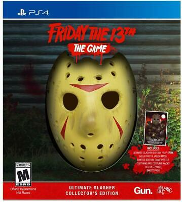 Friday the 13th The Game Ultimate Slasher Collector's Edition PS4