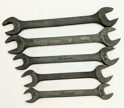 Snap On Double Open End GVO Industrial Finish SAE Wrench Set (HE2022217)