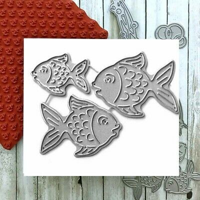 Fish Shape Metal Steel Cutting Dies Stencils For DIY Scrapbooking Album Die Cuts