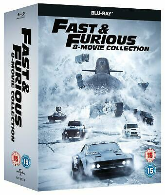 Fast & Furious Complete Collection [1-8] (Blu-ray, 8 Discs, Region Free) *NEW*