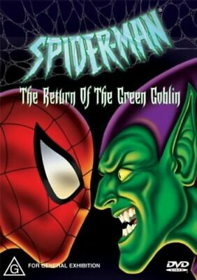 Spider Man=The Return Of The Green Goblin Dvd=Anim=Region 4 Aust=New And Sealed