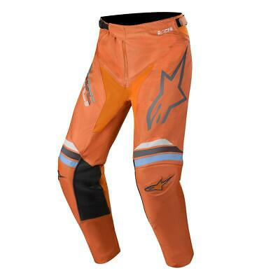 Alpinestars Cross Hose Racer Braap - Dunkelgrau/Orange Fluo