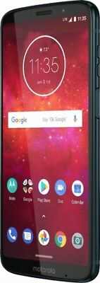 "Motorola Moto Z3 Play XT1929-4 PA9S0000US 64GB Factory  Unlocked 6"" DEEP INDIGO"