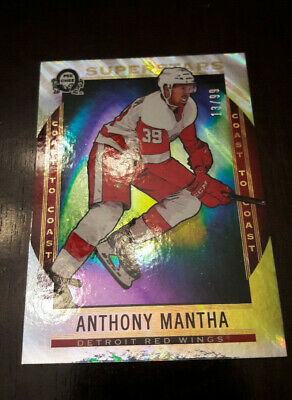 2018-19 Anthony Mantha Canadian Tire Coast to Coast OPC Polar lights /99