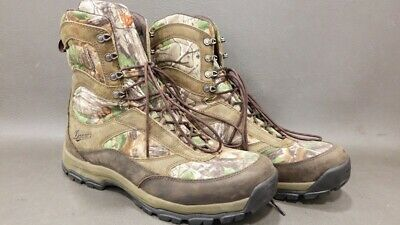 """ed48e32d2c4 MENS DANNER HIGH Ground 8"""" Camo Hunting Boots Size 12 Great Condition!"""