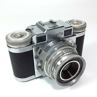 Vintage Braun Paxette 35mm Camera
