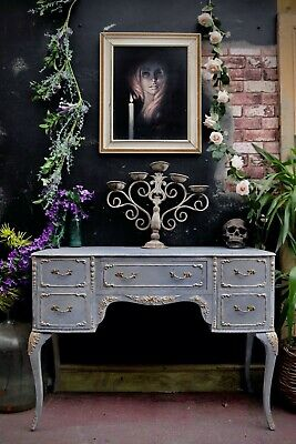 Chest Of Three Drawers Solid Victorian Pine Rustic Distressed Farmhouse