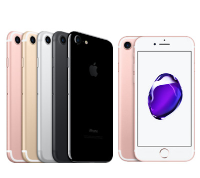 Apple iPhone 7 -32GB/128GB/256GB GSM+Factory Unlocked 4G LTE WiFi iOS Smartphone