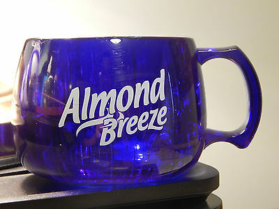 Almond Breeze - Almondmilk (Blue Diamond) Clear Blue *MUG_CUP* [Ltd] Promotional