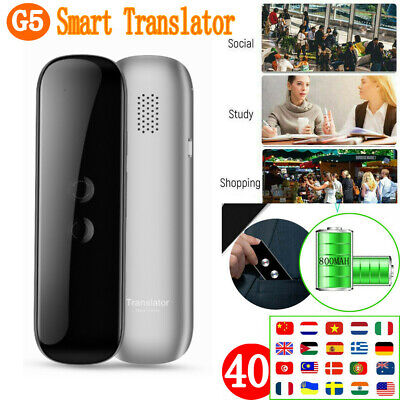 US Translaty MUAMA Enence 40 Languages Smart Translator Instant Voice Photograph